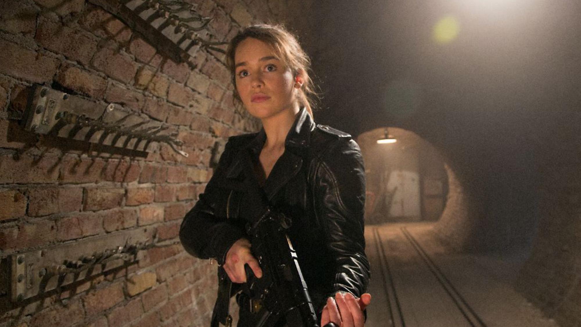 Terminator genisys skynet 39 s army terminator fans - Sarah connor genisys actress ...