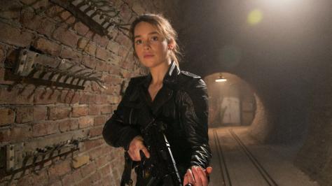 Actress emilia clarke talks terminator genisys not being - Sarah connor genisys actress ...