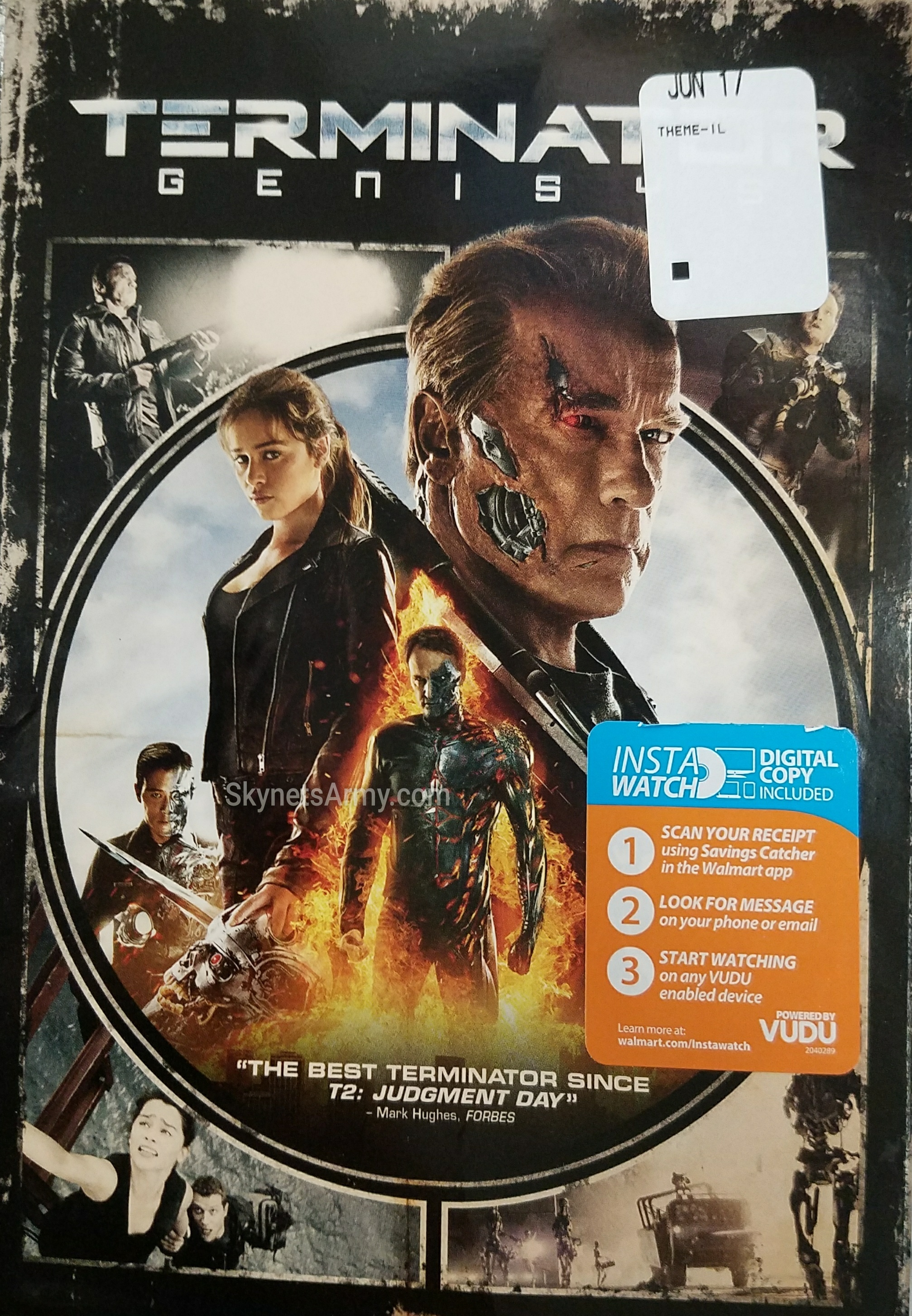 """New """"TERMINATOR GENISYS"""" 4K and DVD releases hits Home Video"""