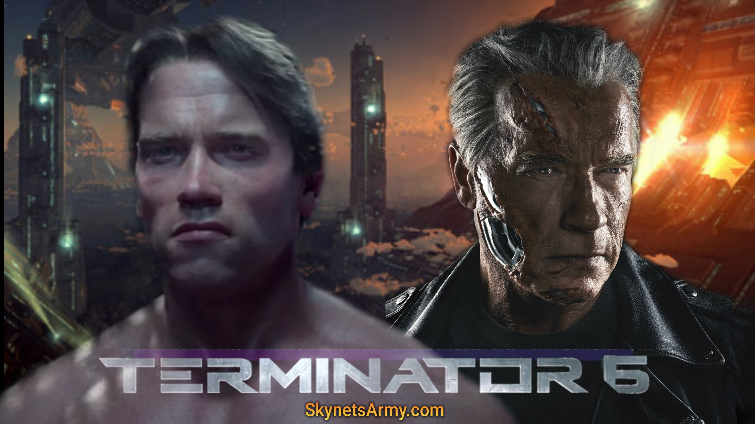 It Was An Exciting Time This Past April When The Iconic Terminator Himself Confirmed He Will Be Back For 6 Actor Arnold Schwarzenegger