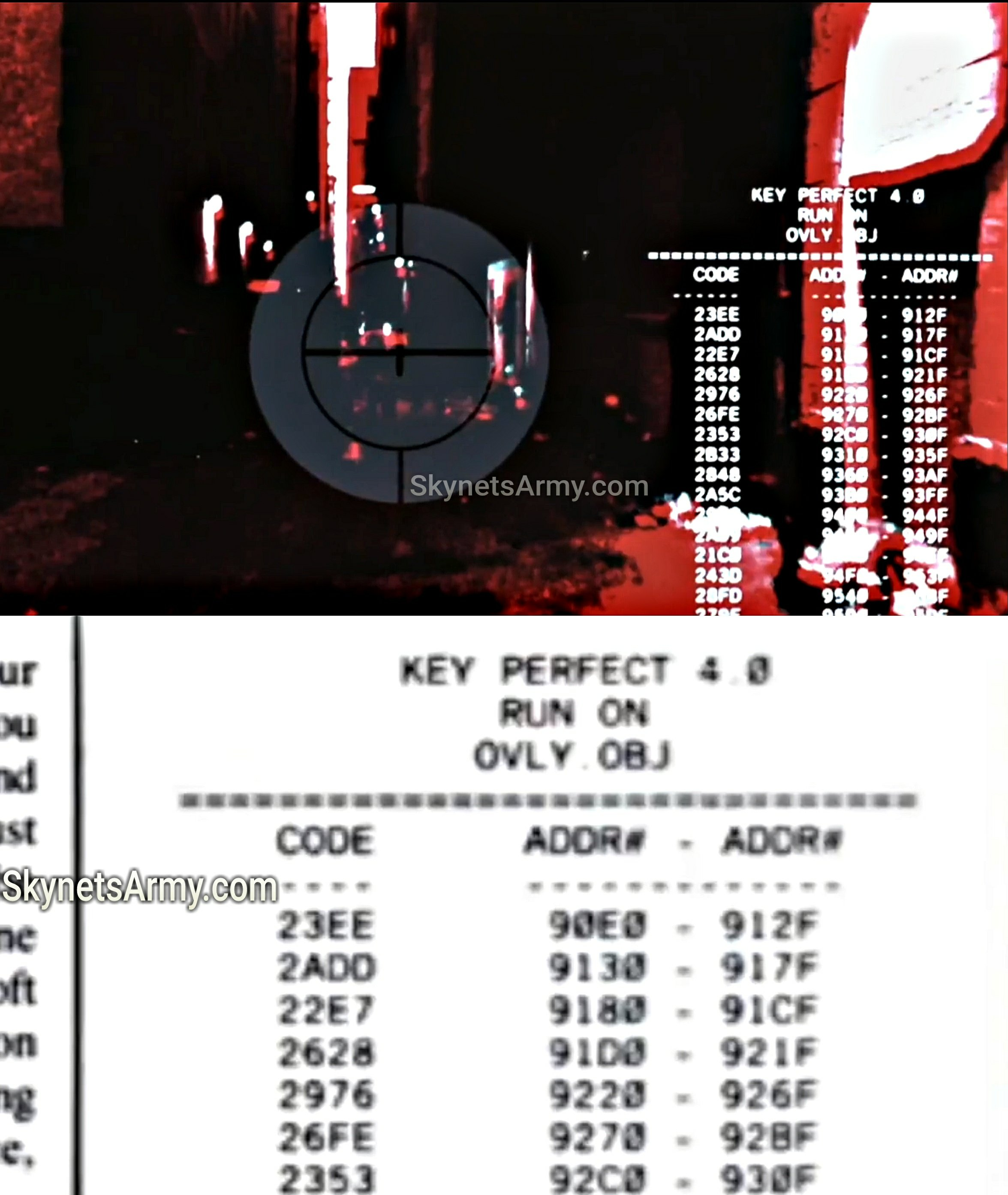 The TERMINATOR's display code is finally cracked! What does it mean