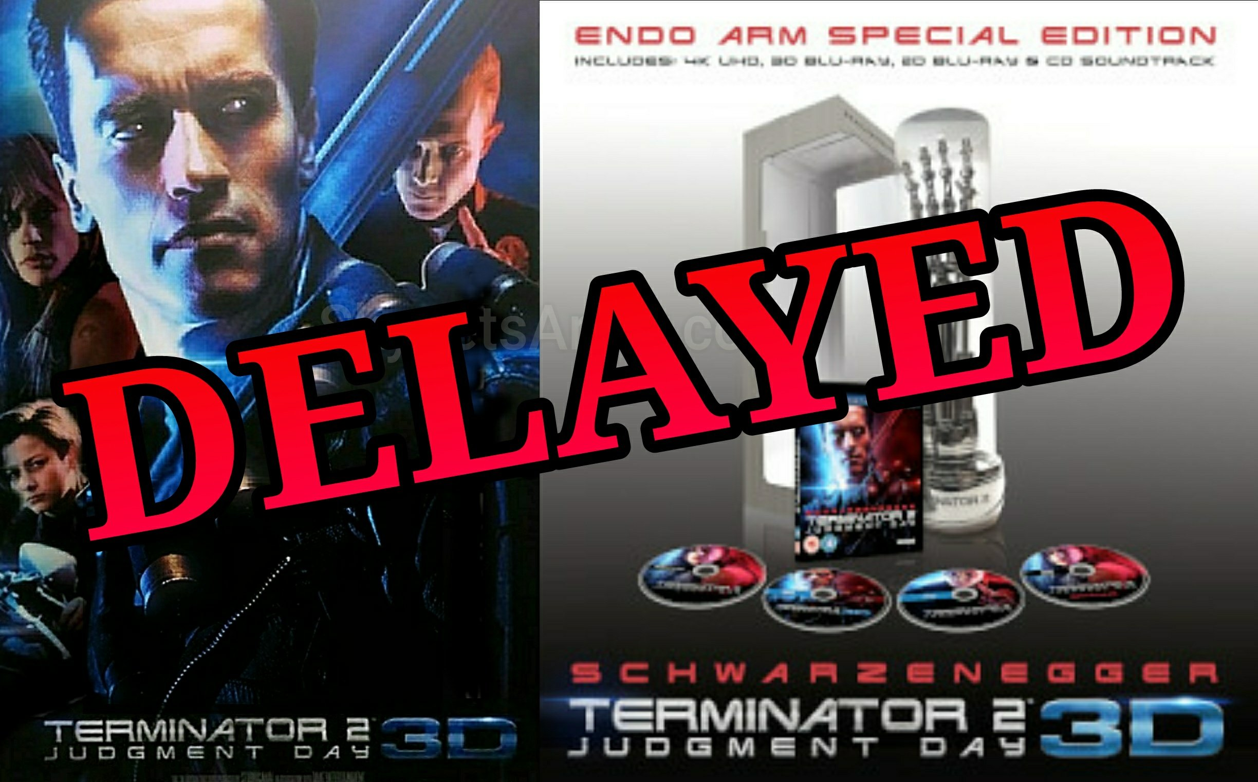 Late July It Was Announced That Terminator 2 Judgment Day Is Coming To Home Video This October 3rd In The United States Released By Lionsgate