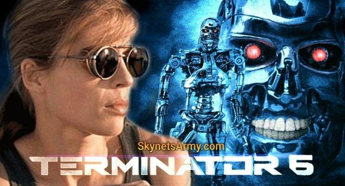 "LINDA HAMILTON will be back for ""TERMINATOR 6""!"