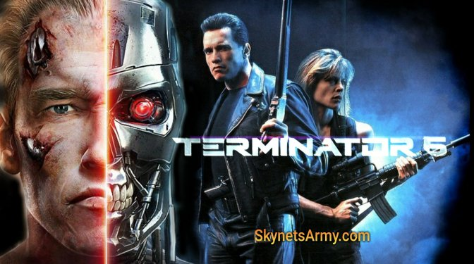 Arnold will play a TERMINATOR in T6, the very same T-800 from T2!
