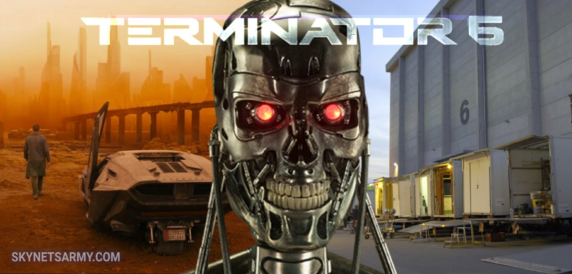 TERMINATOR Set Construction Is Underway At The Same Studio Used - The miniature set used for blade runner 2049 will change the way you see movies